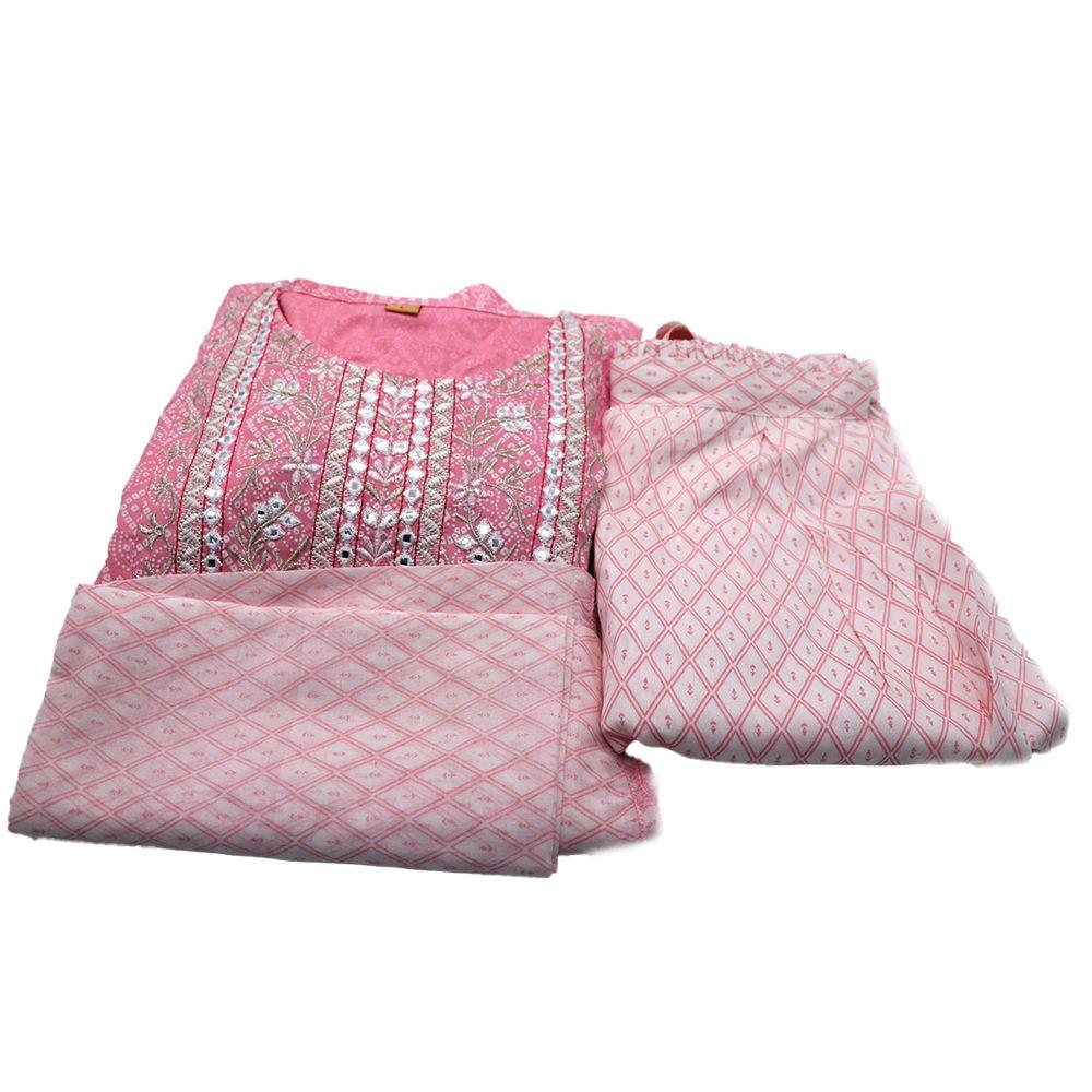 Teej Special Bangladeshi Cotton Kurta