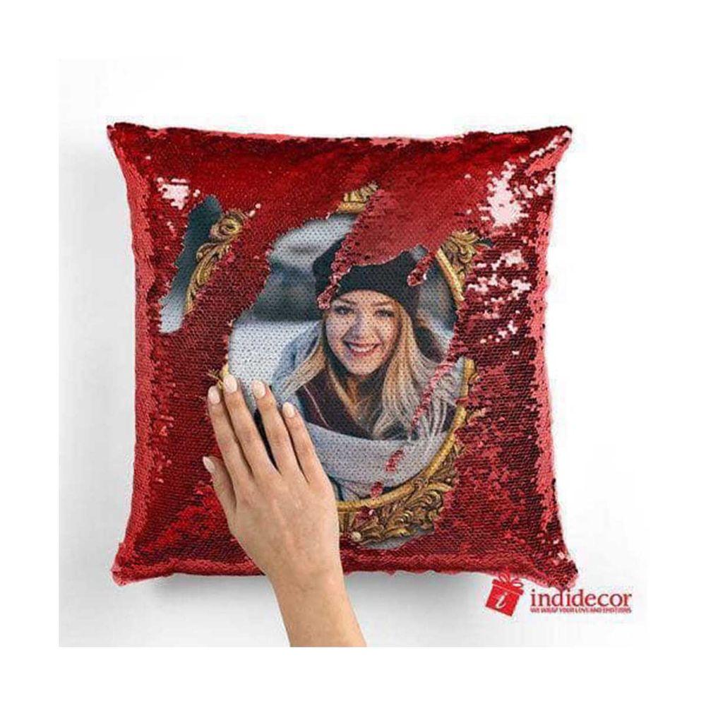 Customized Magic photo printed Cushion