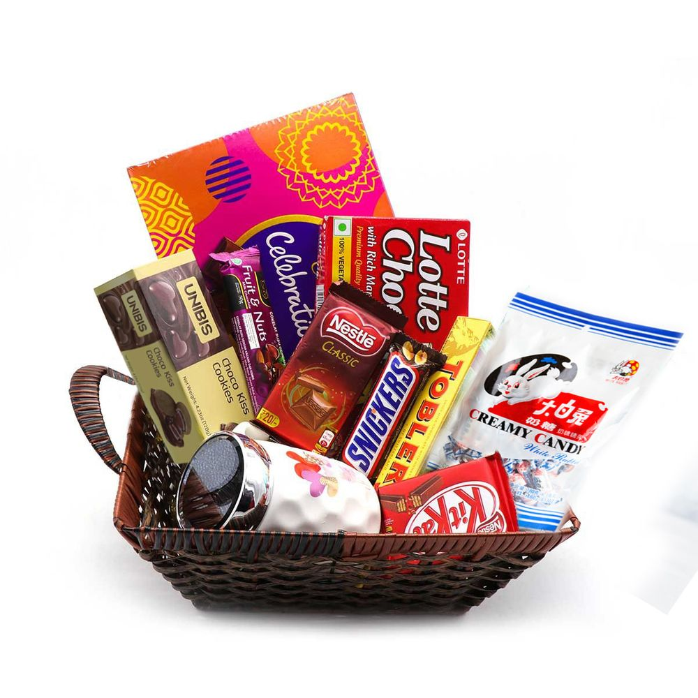 Sweet Chocolates Present with Ceramic Mug