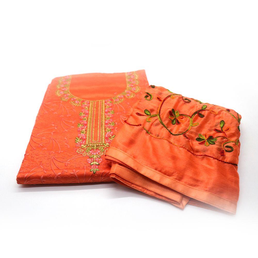Well-Situated Cotton Kurta for Haritalika Teej