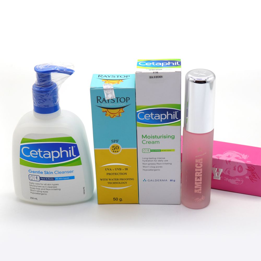 Skin Care Products with Perfume